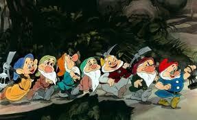 7 Dwarfs Whistle While They Work in Disney movie