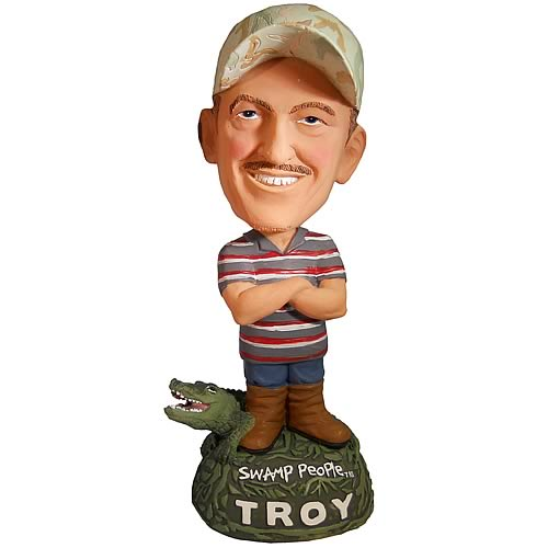 ... Bobblehead to Get Ahead » Bubblehead Swamp People Troy Landry