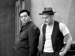 Jackie Gleason and Art Carney in The Honeymooners