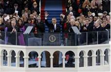 President Obama delivers Second Inaugural Address