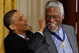 Bill Russell earns Distinguished Medal honor from President Obama
