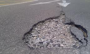 Your basic Pot Hole --how boring.