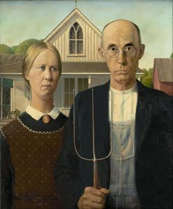 Grant Wood masterpiece