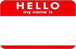name-tag