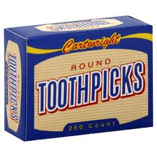 box of toothpicks