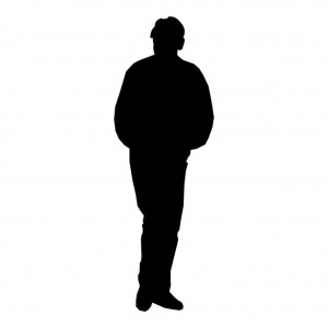 silhouette-man-standing
