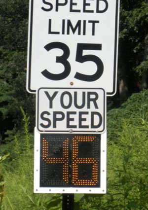 digital speed sign 1