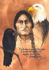 Sitting Bull Close-up