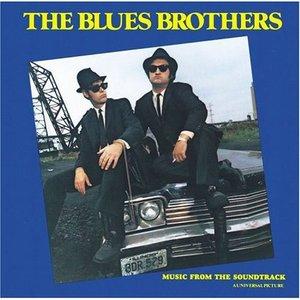 Elwood (Dan Akroyd) and Jake (John Belushi) - The Blues Brothers