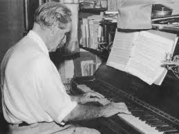 Albert Schweitzer playing the organ
