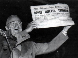 1948 election stunned pundits