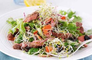 alfalfa and roast beef