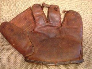 Baseball Glove circa 1920