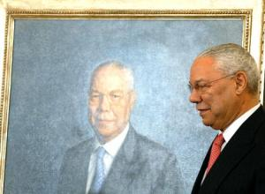 Colin Powell and his State Department Portrait