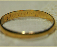 Sam Houston's Honor Ring
