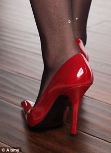 a high heel