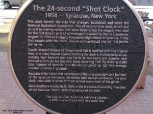 A Syracuse_Shot_Clock_Monument_Close-Up