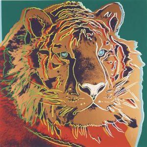 Andy Warhol's Siberian Tiger